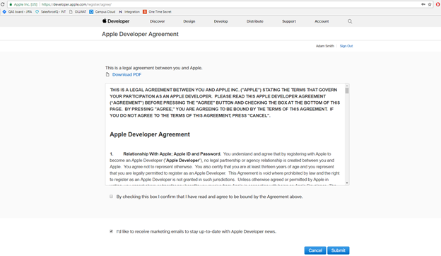 Enrolling in the Apple Developer Program – Ready Education